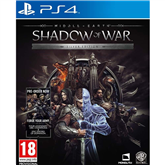 Игра для PlayStation 4, Middle Earth: Shadow of War Silver Edition