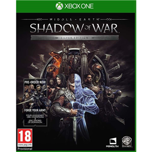 Xbox One game Middle Earth: Shadow of War Silver Edition