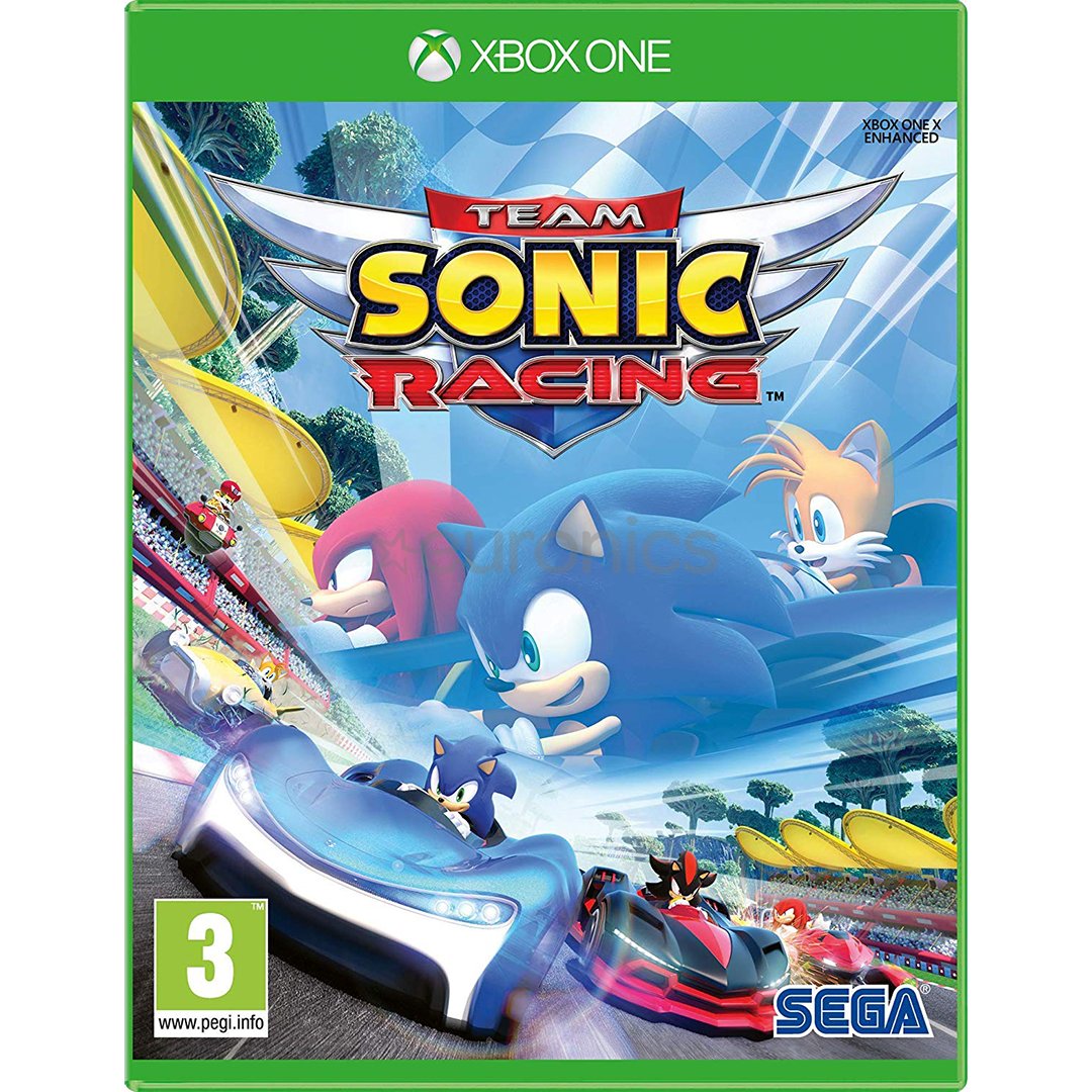 Xbox One game Team Sonic Racing