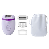 Epilaator Philips Satinelle Essential + 4 tarvikut