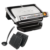 Table grill Tefal Optigrill+ with waffle plates