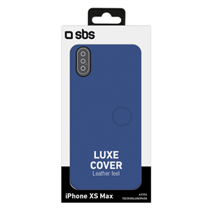 iPhone XS Max leather case SBS
