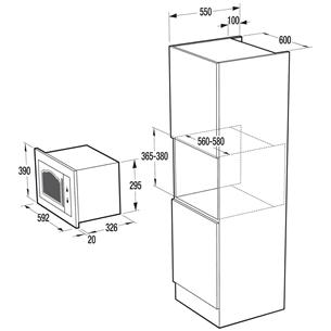 Integreeritav mikrolaineahi Gorenje (23 L)