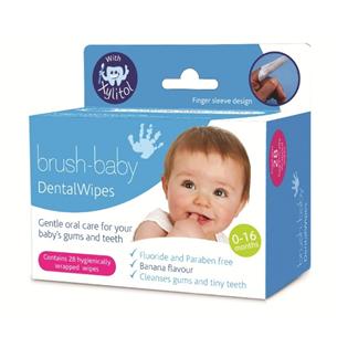 Dental wipes Brush-baby DENTALWIPES