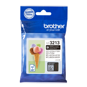 Ink cartridge Brother LC3213BK (black)