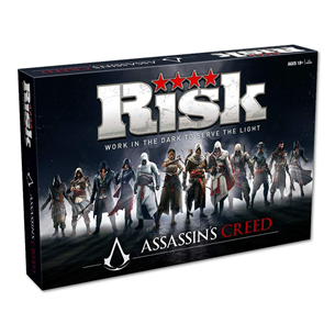 Board game Risk - Assassins Creed