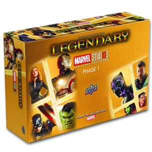 Kaardimäng Legendary Marvel Studios the First Ten Years Phase 1