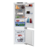 Built-in refrigerator Beko (height: 177cm)
