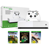 Gaming consule Microsoft Xbox One S All-Digital Edition (1 TB) + 3 games