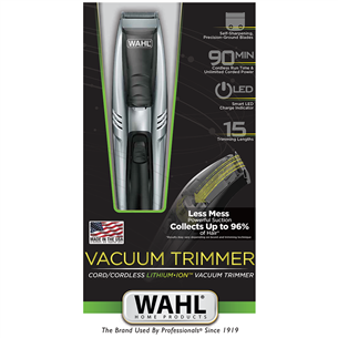 Vaakumiga trimmer Wahl