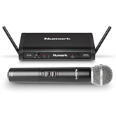 Wireless microphone + sender Numark