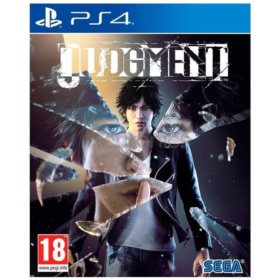 PS4 game Judgement