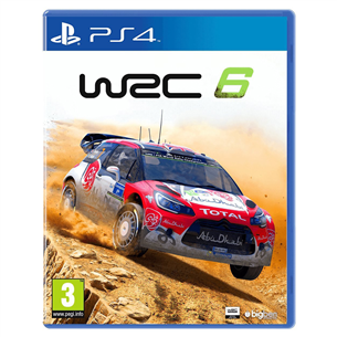 Игра для PlayStation 4 WRC 6