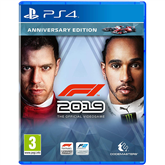 PS4 mäng F1 2019 Anniversary Edition