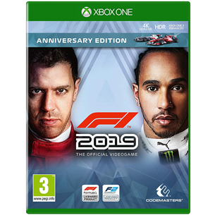 Xbox One mäng F1 2019 Anniversary Edition
