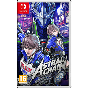 Switch mäng Astral Chain (eeltellimisel)