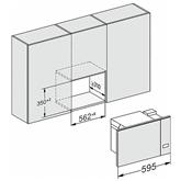 Integreeritav mikrolaineahi Miele (17 L)
