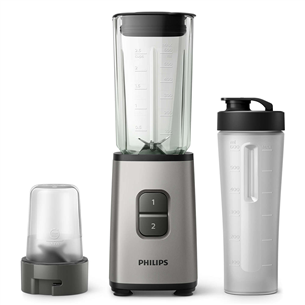 Mini-blender hakkijaga Philips Daily Collection HR2605/80