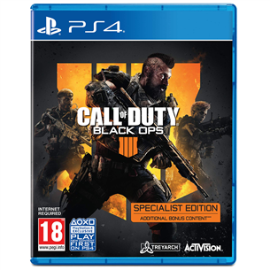 PS4 mäng Call of Duty Black Ops 4 Specialist Edition