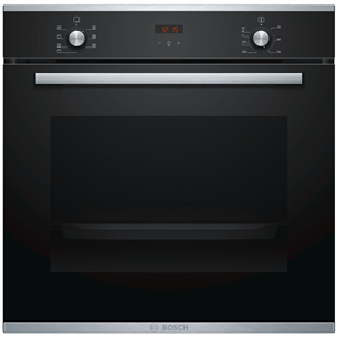 Built-in oven + extension rails Bosch