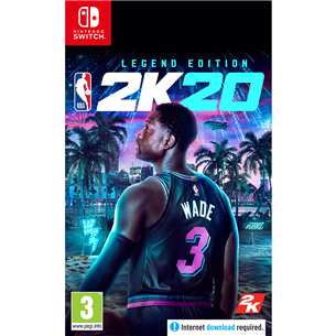 Switch mäng NBA 2K20 Legend Edition (eeltellimisel)