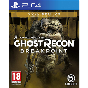 PS4 mäng Ghost Recon Breakpoint Gold Edition (eeltellimisel)