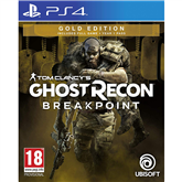 PS4 mäng Ghost Recon Breakpoint Gold Edition