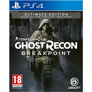 PS4 mäng Ghost Recon Breakpoint Ultimate Edition