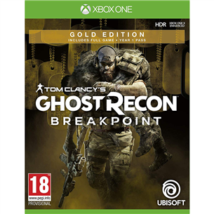 Xbox One mäng Ghost Recon Breakpoint Gold Edition (eeltellimisel)