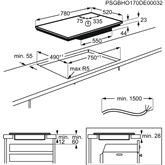 Built-in induction hob AEG