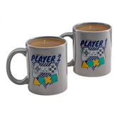 Mugs Playstation Player 1 and 2