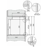 Интегрируемый духовой шкаф Miele (пиролитическая очистка)