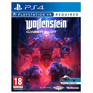 PS4 VR game Wolfenstein: Cyberpilot