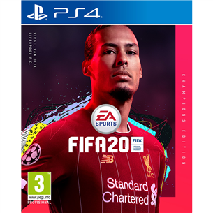 PS4 mäng FIFA 20 Champions Edition