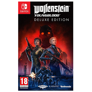 Switch mäng Wolfenstein: Youngblood Deluxe Edition