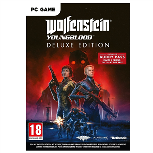 Arvutimäng Wolfenstein: Youngblood Deluxe Edition