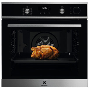 Built-in oven with pyrolytic cleaning Electrolux EOC6P71X