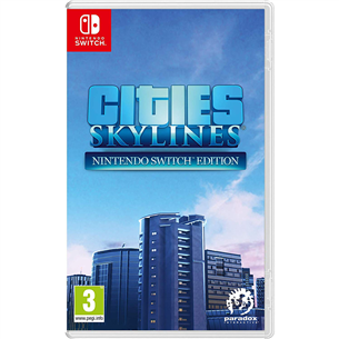 Switch mäng Cities: Skylines