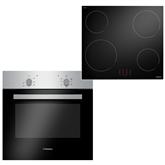 Built-in oven + hob Hansa