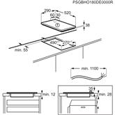 Integreeritav keraamiline pliidiplaat AEG