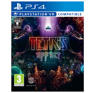 PS4 game Tetris Effect