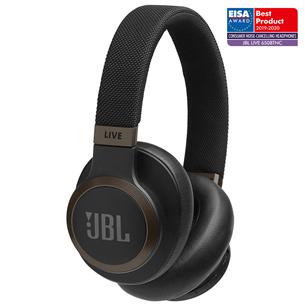 Juhtmevabad kõrvaklapid JBL LIVE 650BTNC JBLLIVE650BTNCBLK