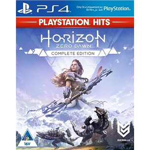 PS4 game Horizon Zero Dawn Complete Edition