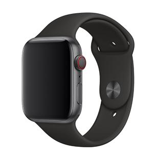 Vahetusrihm Apple Watch Black Sport Band - Extra Large 44mm