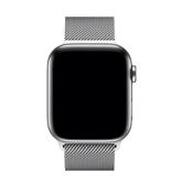 Vahetusrihm Apple Watch Silver Milanese Loop Apple 44 mm
