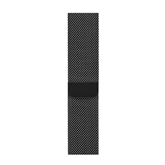 Vahetusrihm Apple Watch Space Black Milanese Loop 44 mm