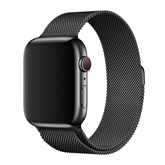 Запасной ремешок Apple Watch Space Black Milanese Loop 44 мм