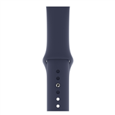 Vahetusrihm Apple Watch Midnight Blue Sport Band - S/M & M/L 44 mm