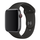Vahetusrihm Apple Watch Black Sport Band - Regular 44mm