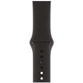 Vahetusrihm Apple Watch Black Sport Band - S/M & M/L 40 mm